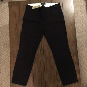 Black J Crew Minnie pants